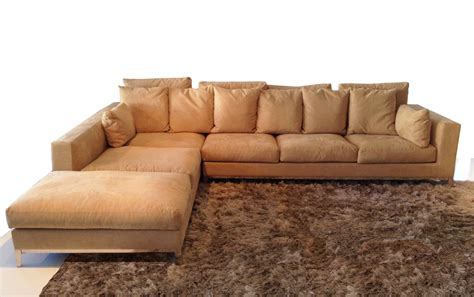 Big Sofas Sectionals Large Modern Sectional Sofa With Stainless Steel Legs Modern Furniture