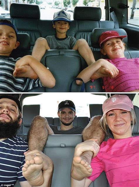 Might Serve Far Less Than 45 Days by Siblings Hilariously Recreate Photos From Their Childhood