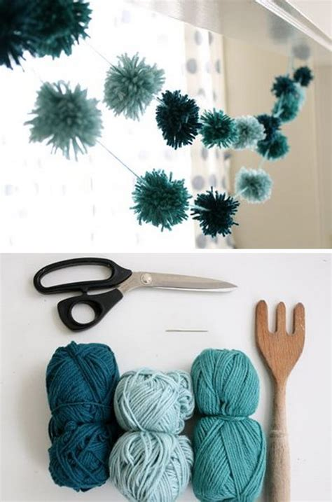 Decorating With Yarn by 25 Diy Yarn Crafts Tutorials Ideas For Your Home