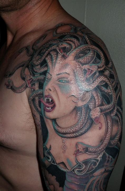 medusa chest tattoo medusa tattoos designs ideas and meaning tattoos for you