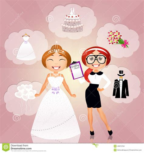 Wedding Planner Pictures by Wedding Planner Stock Illustration Illustration Of Smile