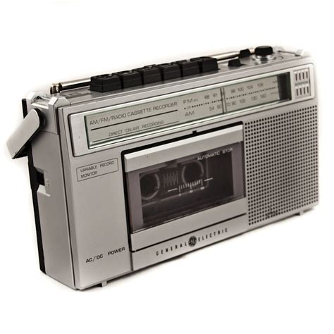 cassette player on sale vintage cassette player recorder radio chic