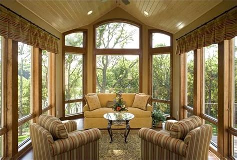 Log Home Design Ideas Magazine sun room pitched sitting area take it outside outdoor