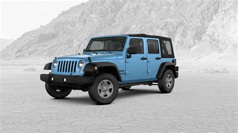 jeep chief color 2018 jeep wrangler jk exterior color choices