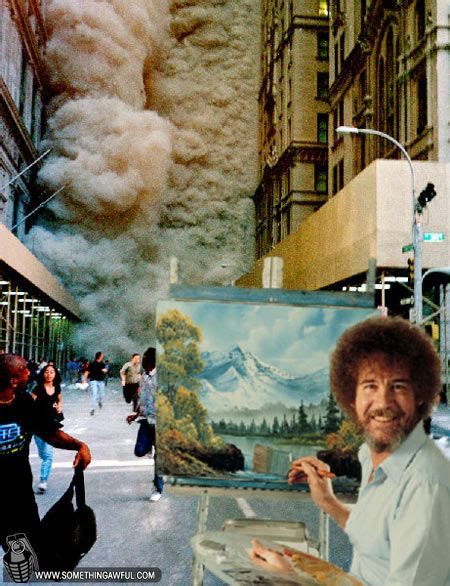 bob ross painting in photoshop image 33338 photoshop bob ross your meme