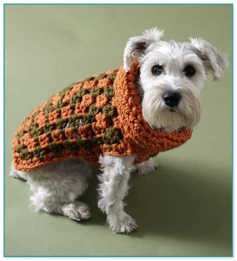 crochet pattern for xxl dog sweater free crochet patterns for dog sweaters