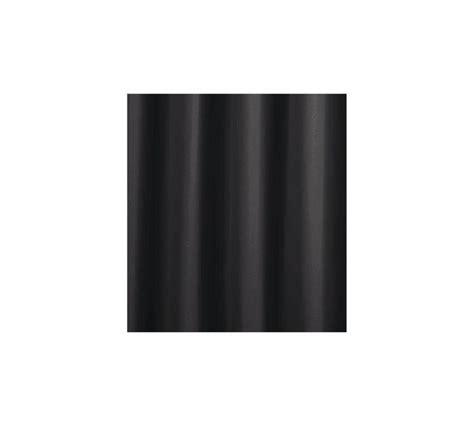 plain black shower curtain buy colourmatch plain shower curtain jet black at argos