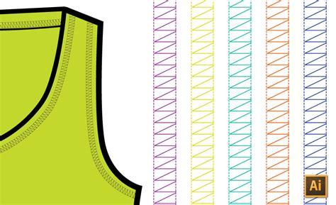 make pattern adobe illustrator cs5 create a coverstitch pattern brush in illustrator