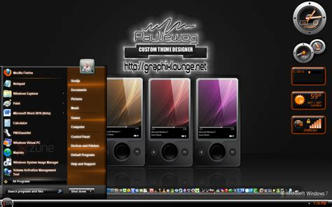 zune theme for windows 10 zune redux windows 7 theme by pauliewog260 on deviantart