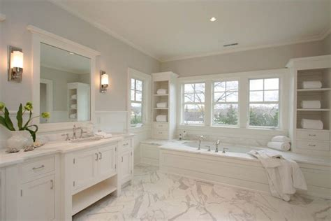 Master Bathroom Paint Ideas Milton Development Amazing Master Bathroom With Gray Paint Color Paired With White Wall