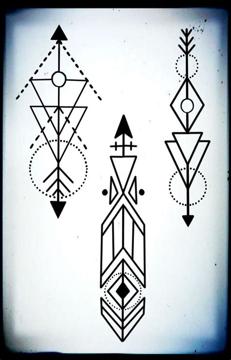 geometric tattoo design best 25 geometric arrow ideas on geometric