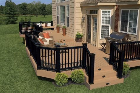 Cost To Pave Backyard Deck Railing Designs St Louis Decks Screened Porches