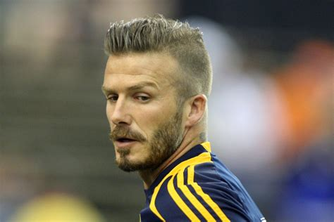 european soccer hairstyles david beckham s 14 definitive hairstyles the morrissey