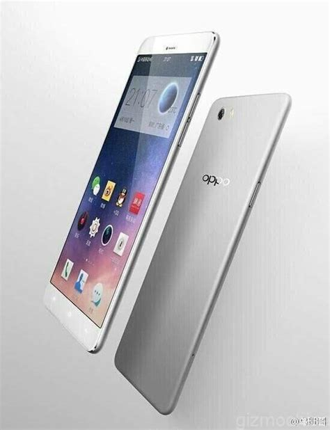 Ultra Thin Stealth Oppo R7 oppo r7 leaked features ultra thin metal gizmochina