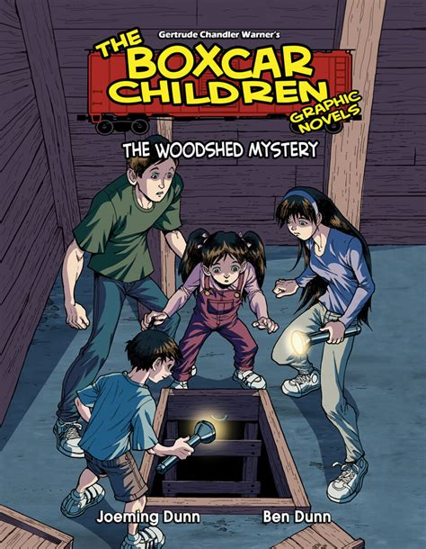 the mystery a graphic novel the woodshed mystery graphic novel albert whitman company