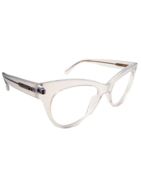 Cat Eye Glasses 2 kamalikulture square cat eye glasses clear in white lyst