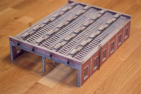 Bachmann 4 Road Engine Shed by Bachmann 44 050 4 Road Engine Shed Ebay