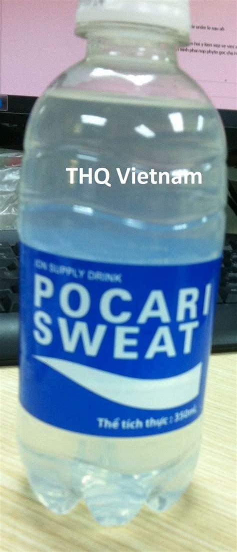 Pocari Sweat Can 330ml pocari sweat water