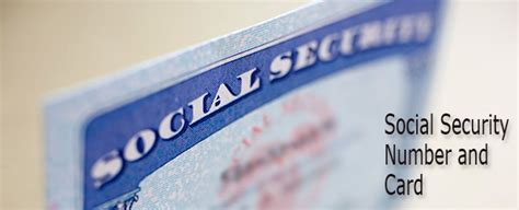 Records And Social Security Numbers New Or Replacement Social Security Number And Card