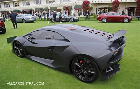 How Many Lamborghinis Were Made Pebble Concours D Elegance 2012 Gallery Concept