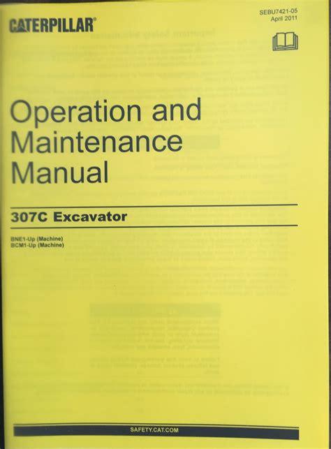 cat caterpillar  excavator operation maintenance manual book sebu bne bcm finney