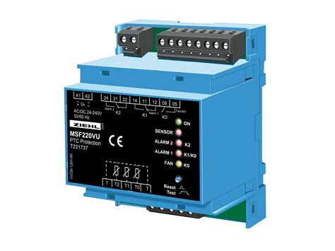 ptc resistor ptc resistor relay msf220v vu ziehl industrie elektronik gmbh co kg