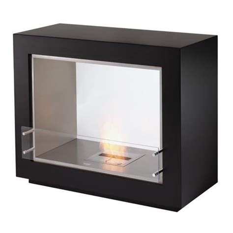 Ventless Modern Fireplace by