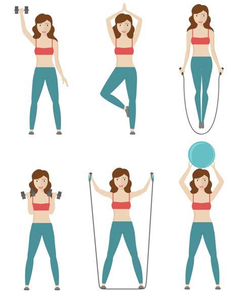 imagenes animales haciendo ejercicio dise 241 o de mujer haciendo ejercicio descargar vectores gratis