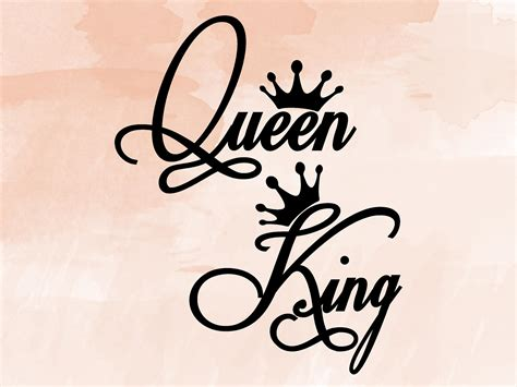 king svg queen svg king crown queen crown svg design svg