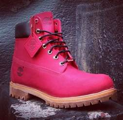 colored tims pink villa timberlands 2014 crep check