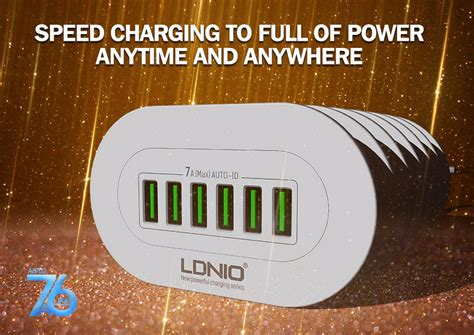 Ldnio A6702 6 Usb Ports 5v 7a Travel International Charger genuine ldnio fast charger a6702 6 end 10 4 2018 9 15 pm