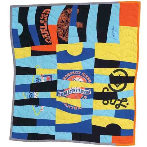 Modern T Shirt Quilt by How To Make A T Shirt Quilt Diy Earth News