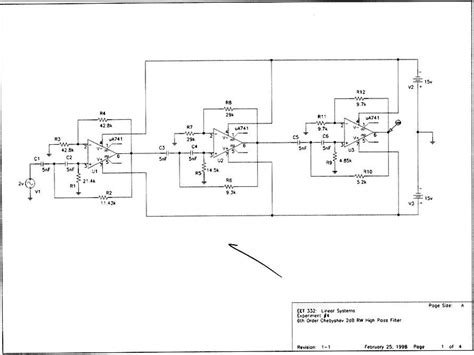 high pass filter lab report high pass filter lab 28 images sixth order high pass chebyshev filter lab data graphic 3