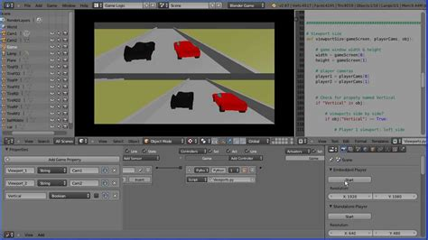 blender tutorial tracking camera blender tutorial racing game camera tracking two cars