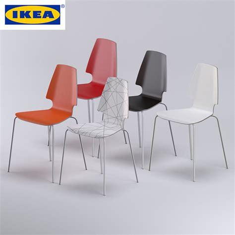 ikea items vilmar chair ikea by cherrywood 3docean