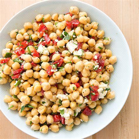 chickpea salad easy chickpea salad recipe