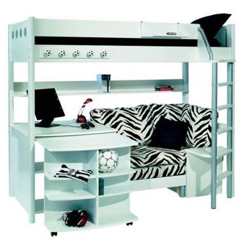 bunk beds  desk  couch stompa combi  bunk bed  sofa bed desk  bookshelf