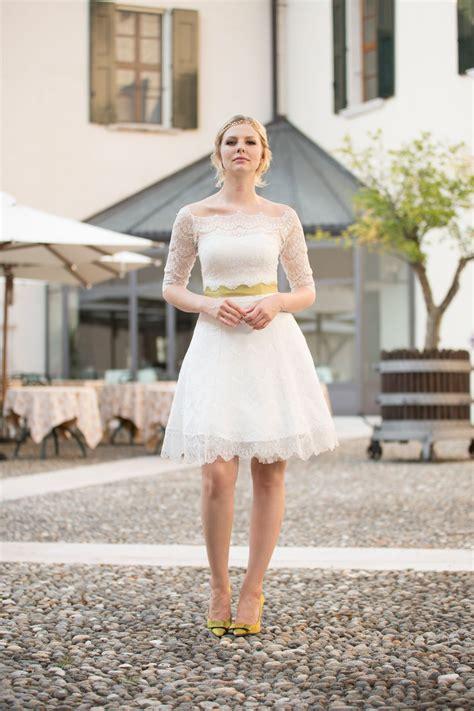 Brautkleid Mittellang by Brautkleid Petticoat Kurzes Spitzenkleid Im 50er Jahre Stil