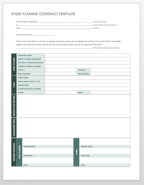 template for planning an event 21 free event planning templates smartsheet