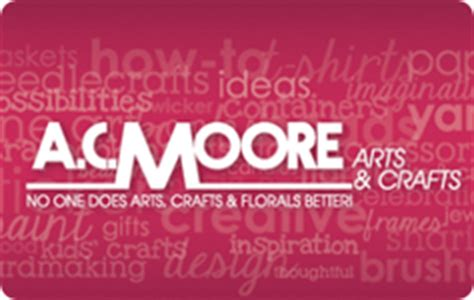 Ac Moore Gift Card Balance - ac moore gift card balance check the balance of your ac moore gift card