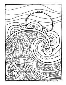 waves coloring pages kpm doodles coloring page wave coloring pages coloring
