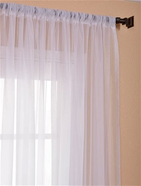 wide sheer curtains signature double layered white sheer curtains drapes