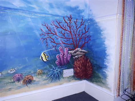 sea mural paint reuse  bradford community