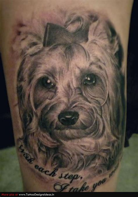 big paws blog spot tattoos of dogs