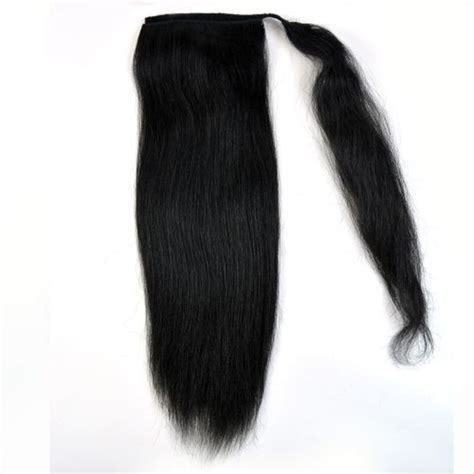 ponytail perm wrap natural hair extensions human hair wigs kinky twist