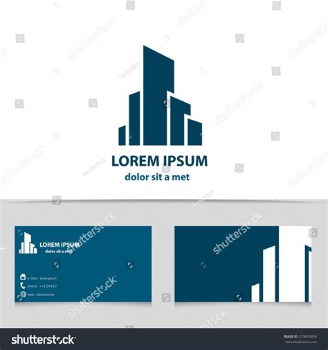 creative architecture firm names building construction logo design your company stock