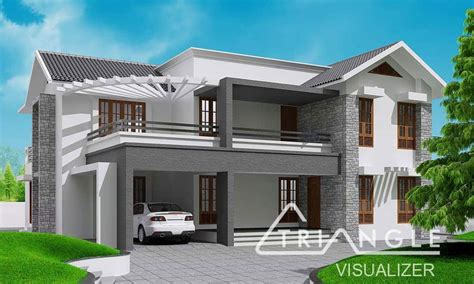 home designer pro manual roof kerala sloping roof contemporary house design at 2300 sq ft