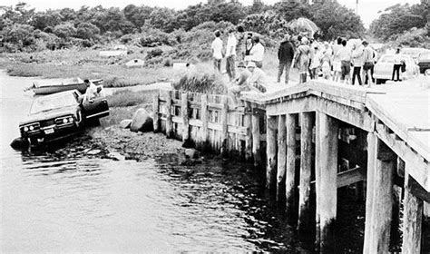 Chappaquiddick Kennedy Bridge Photos Chappaquiddick And Ted Kennedy La Times