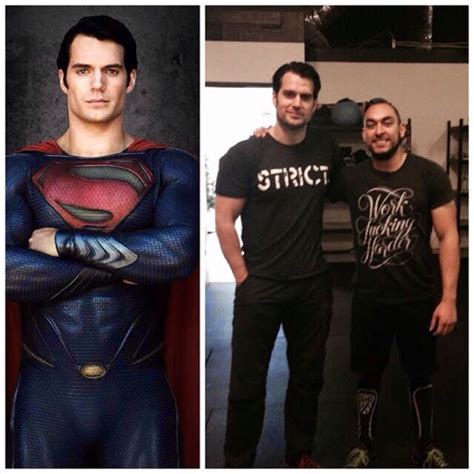 Kaos Batman V Superman 19 Tx henry cavill news hello superman henry works out in el