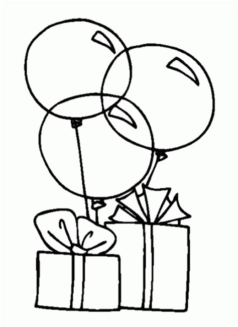coloring pictures of birthday cakes and balloons bull dog coloring pages birthday az coloring pages